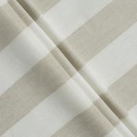 lino ivory beige stripes XL