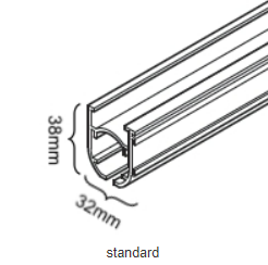 Standaard Systeem-38x32mm